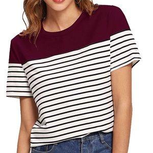 Cute striped tshirt